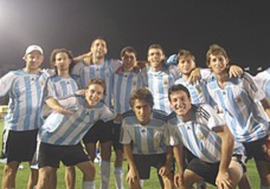 Argentina edges Britain for soccer supremacy