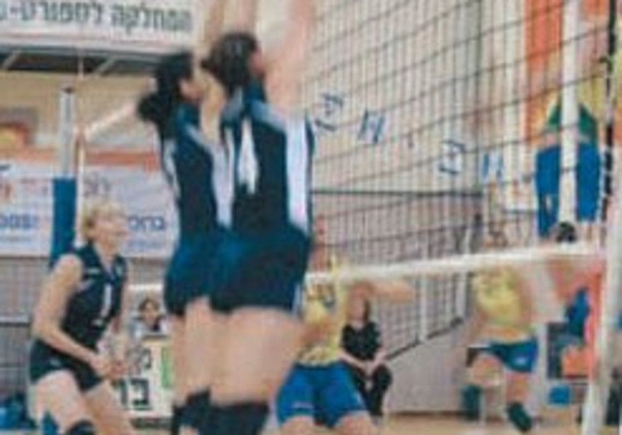 Israel claims Maccabiah volleyball double