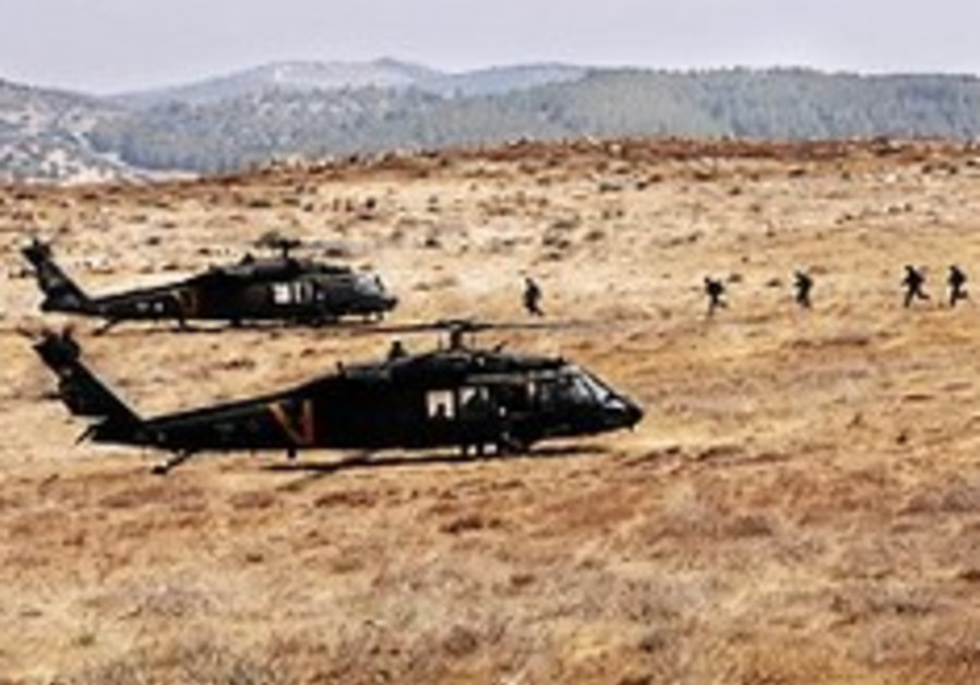 IAF helicopter squadrons assigned to infantry brigades