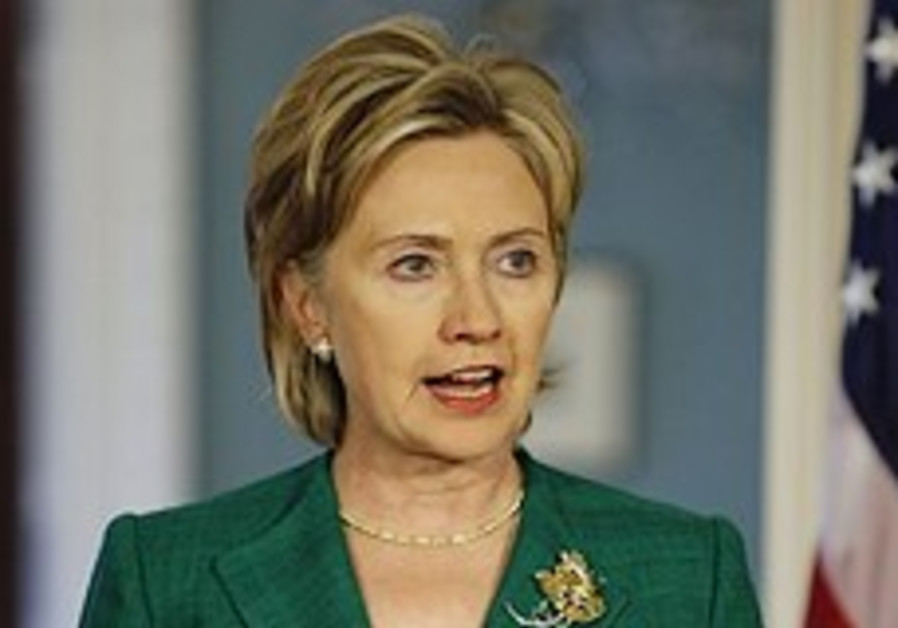 Clinton: Israel must be patient on Iran