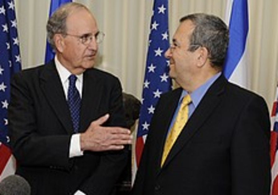 Mitchell: Syria-Israel talks near-term goal