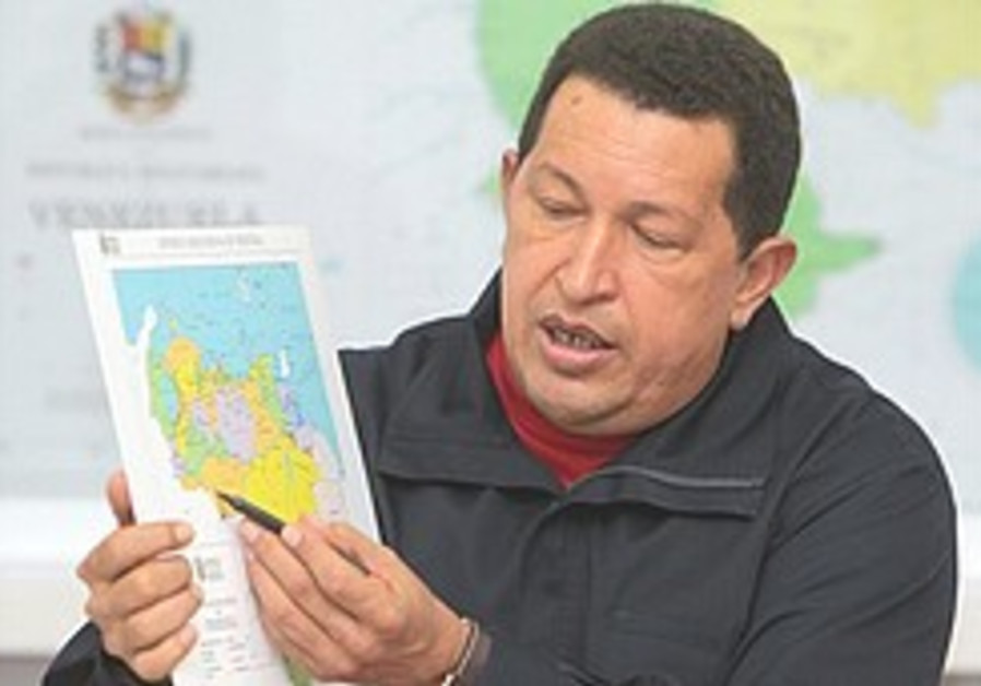Chavez 'freezes' diplomatic ties with Colombia