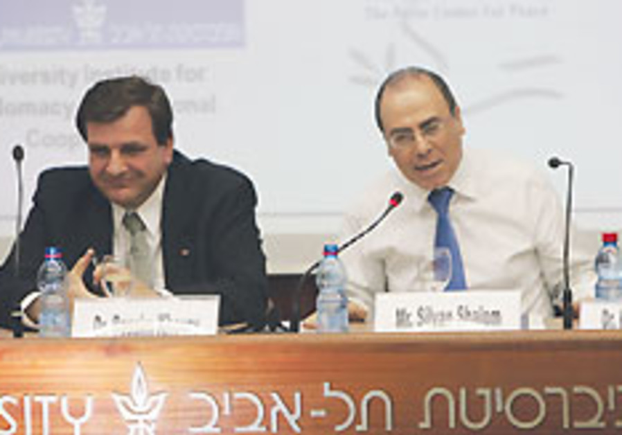 Israeli and Palestinian ministers say first Shalom at economic meet