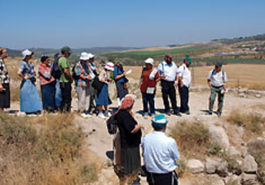 Bringing the Tanach to life, one tour at a time