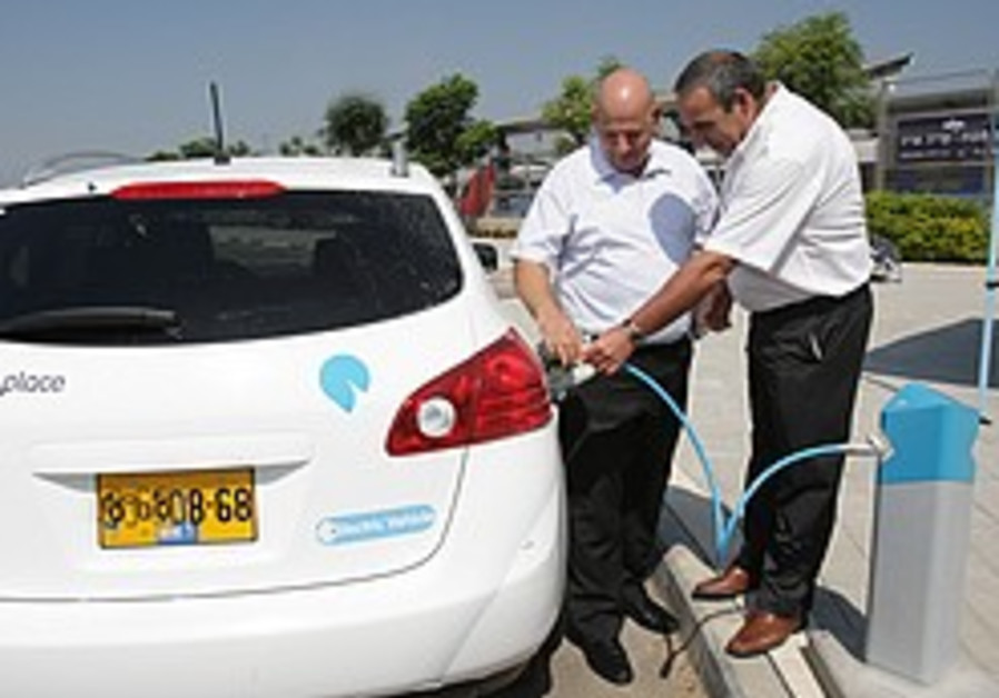 Israel Railways, Better Place unite to save the environment