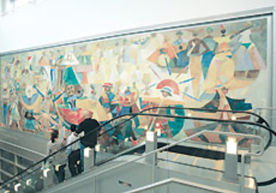 Threatened Kennedy Airport murals are saved in Miami