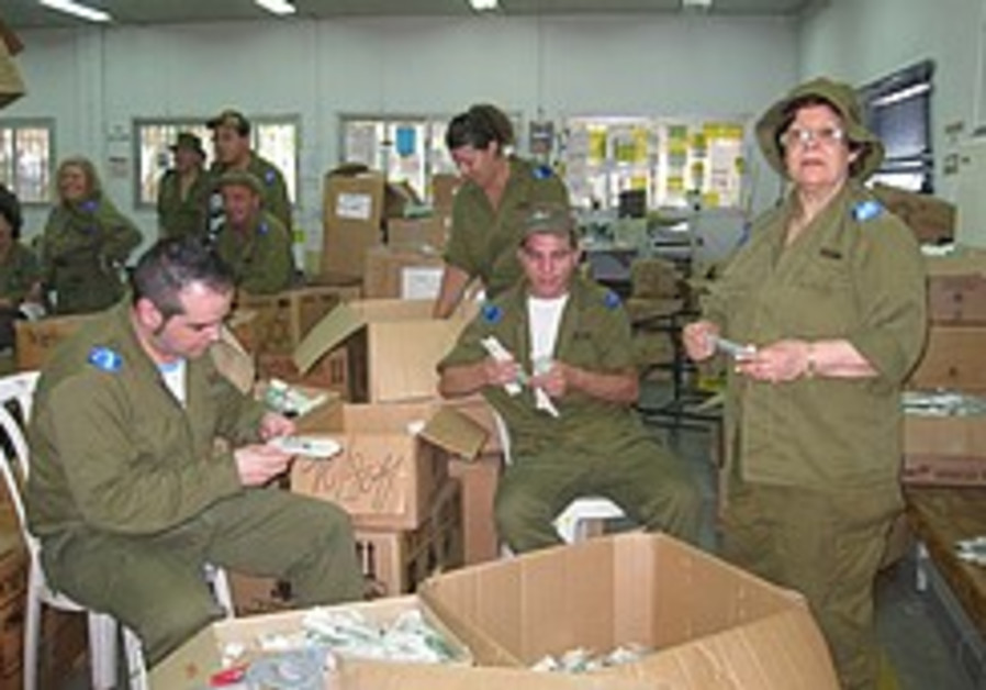 Int'l volunteers 'stand together' with the IDF