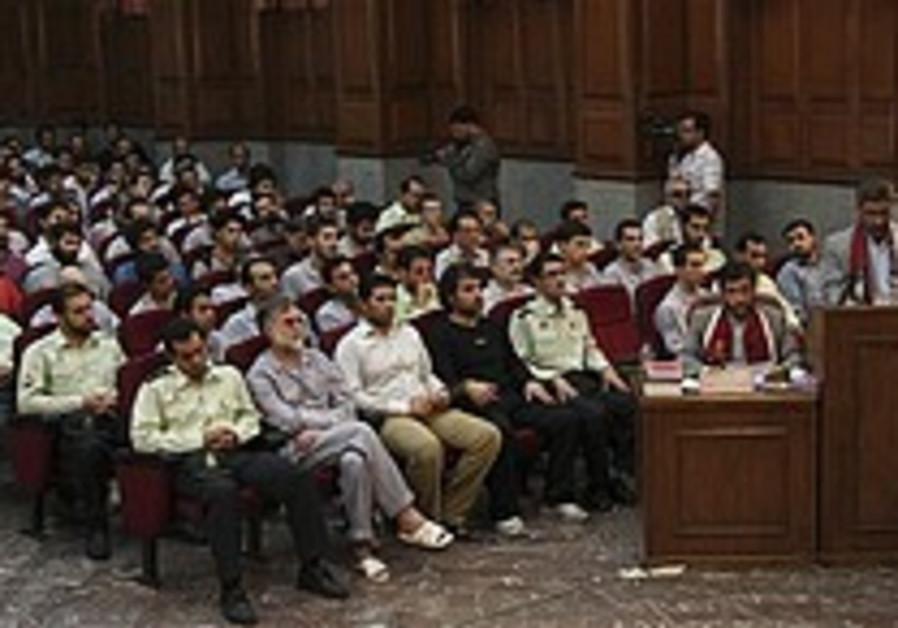Mass trial resumes in Teheran