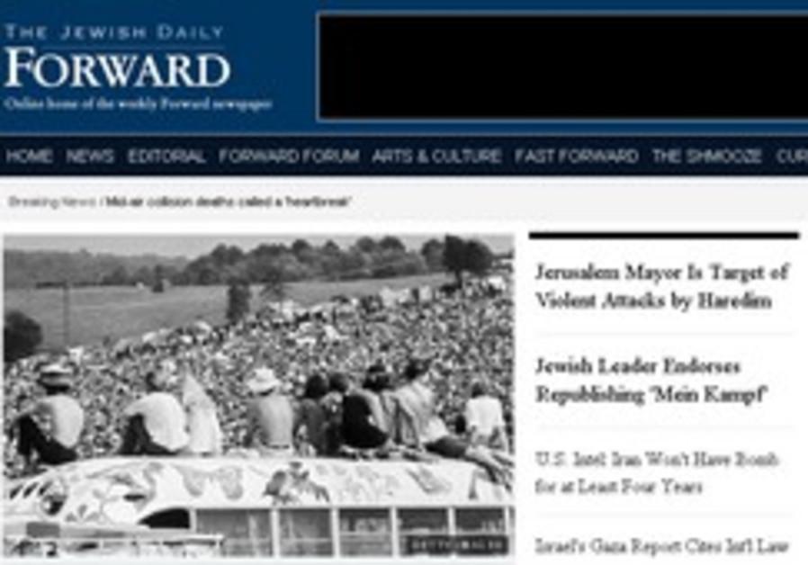 North American Jewish press battered, not beaten