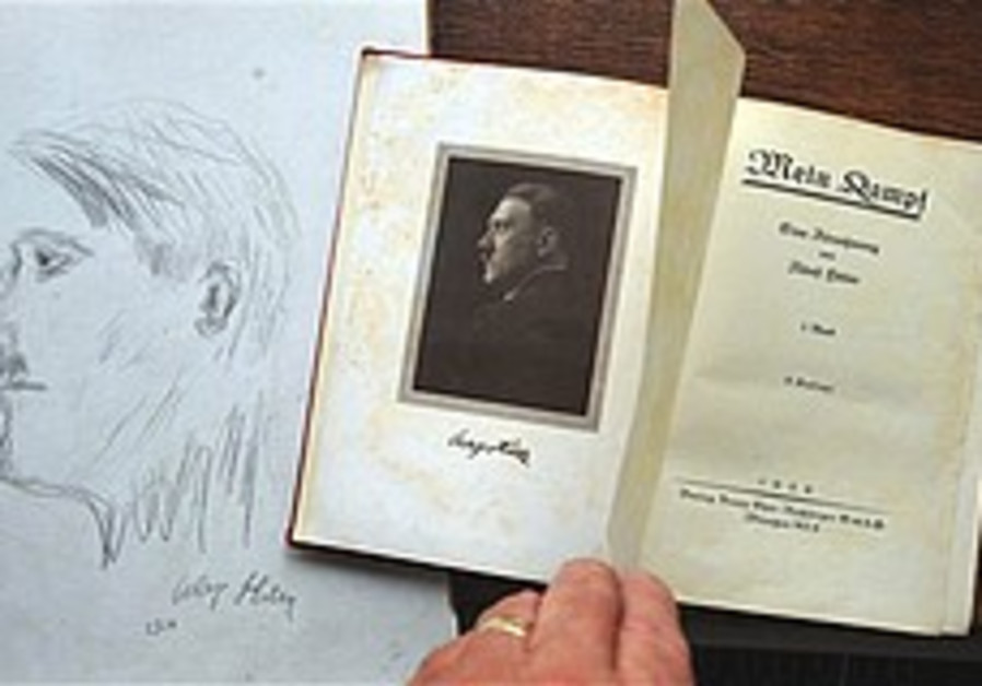 Signed copy of Mein Kampf sold in UK