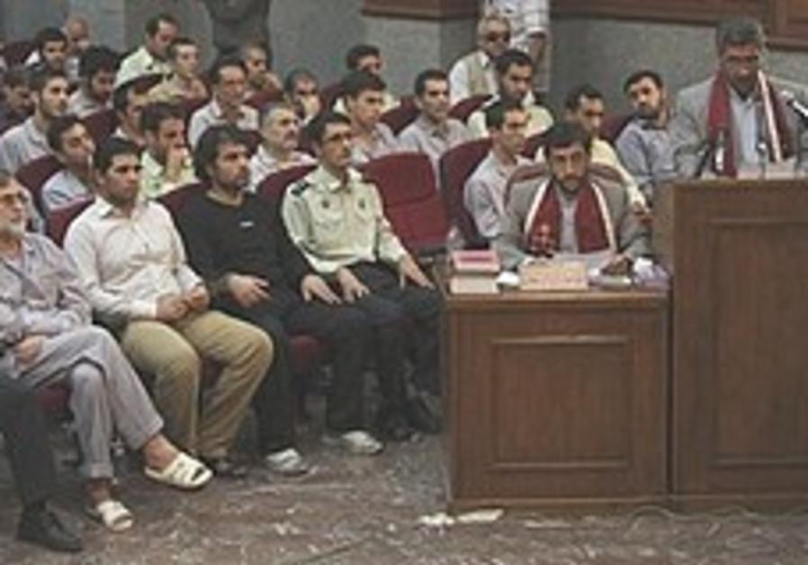 Jewish teen among those tried in Iran