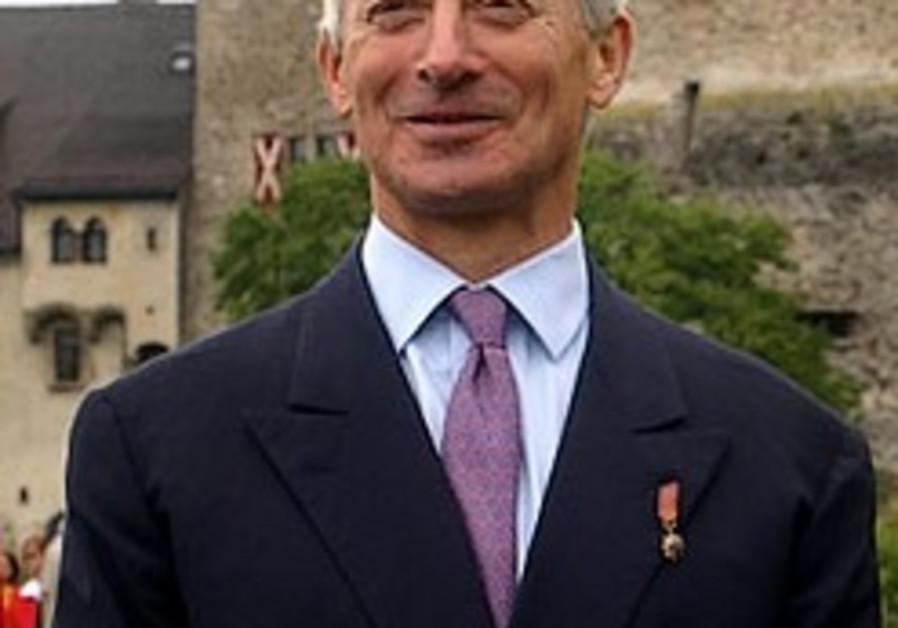 Liechtenstein prince comment irks Jews