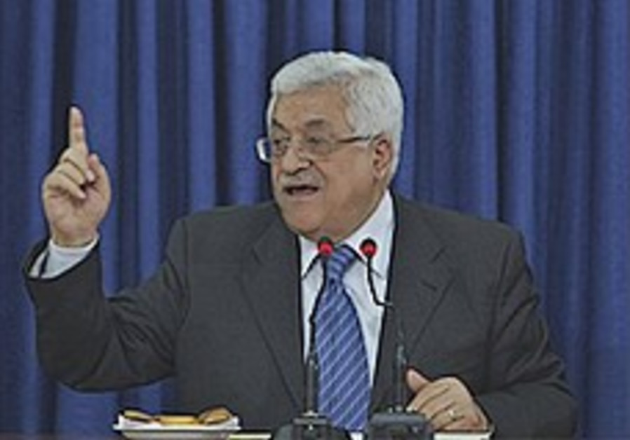 Abbas aide: Talks only with full settlement freeze