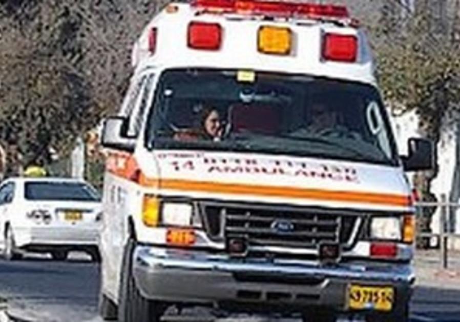 Woman, 46, moderately injured in stabbing near J'lem