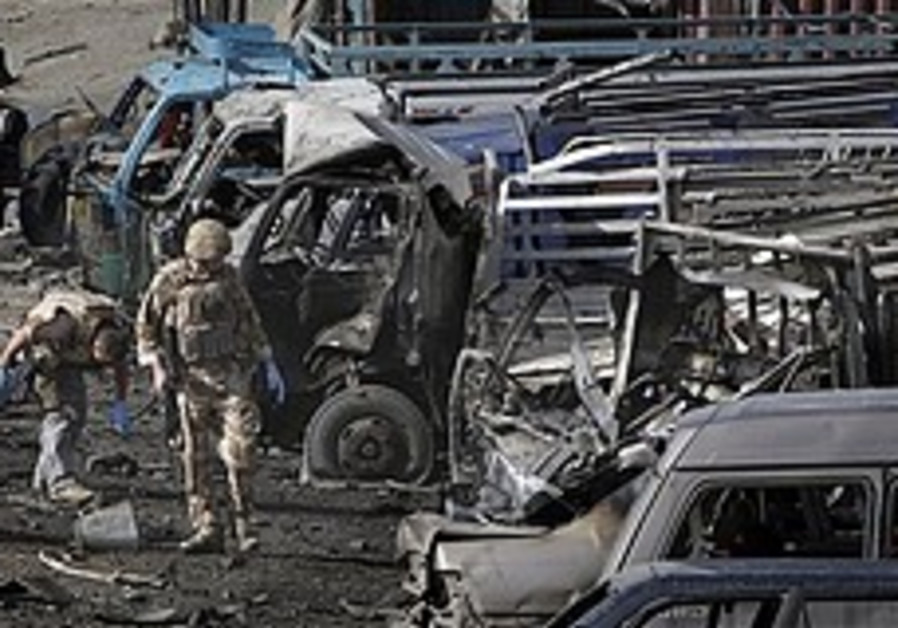 8 killed in bomb attack against NATO troops in Kabul