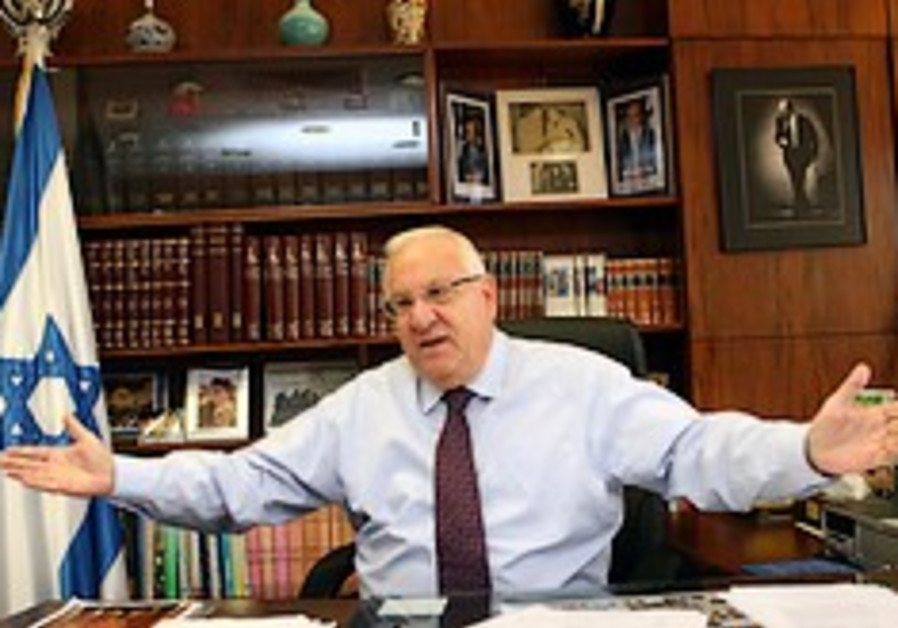 Rivlin to push for regional elections