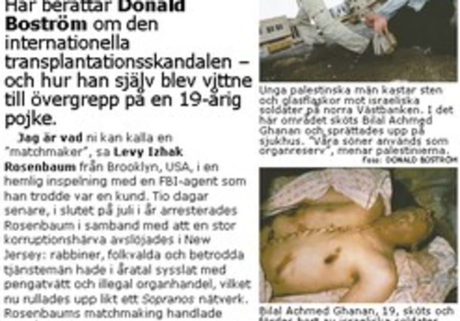 Swedish government funds anti-Semitic NGOs