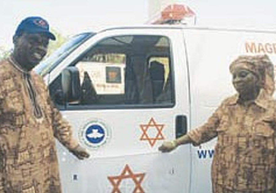 MDA receives first ambulance donated by African church