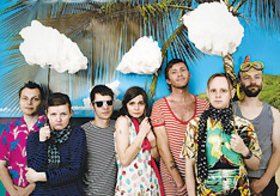 Iceland's experimental band mum to open tour in Israel