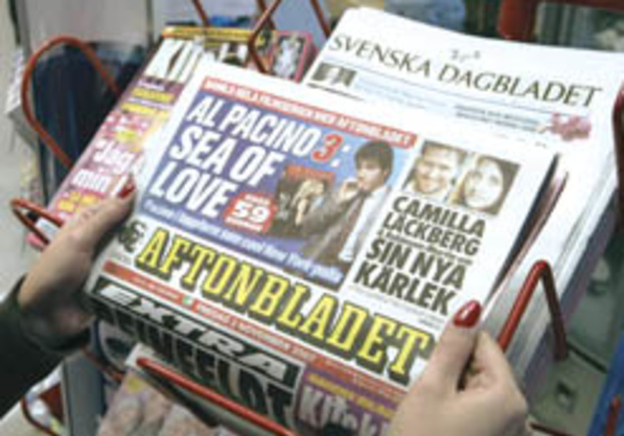 Relative of organ donor to Palestinian child berates Swedish tabloid story