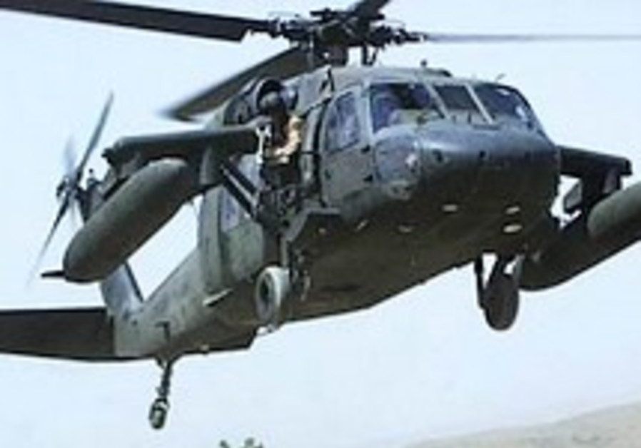 IAF testing new Black Hawk models