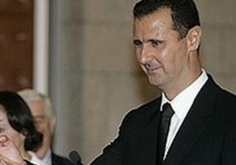 Assad calls Israelis 'fighting children'