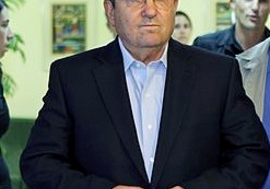 Barak takes a tough line