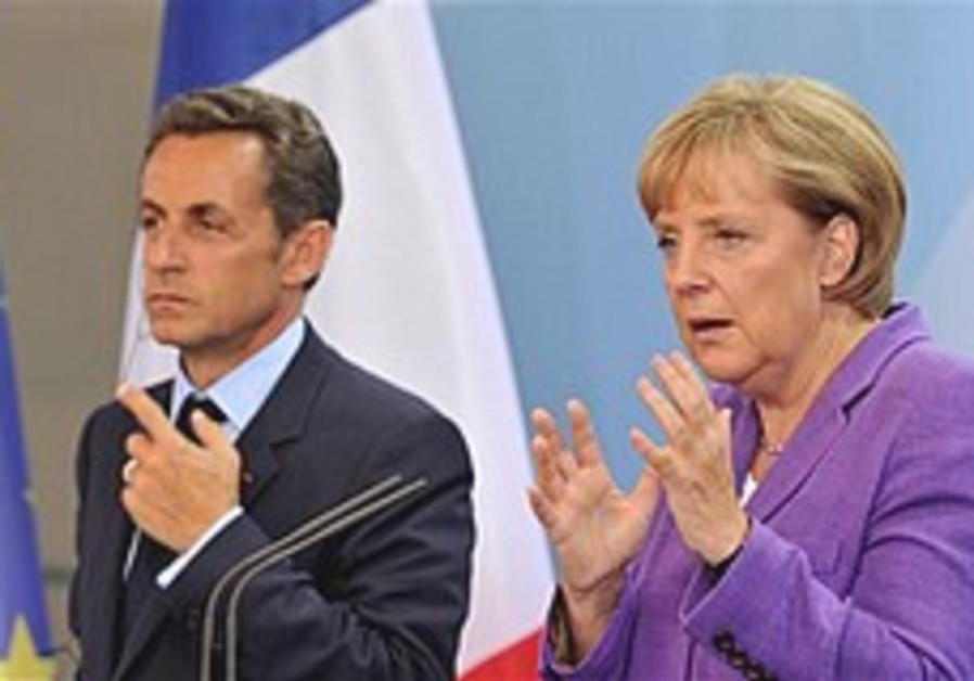 Germany, France reinforce Iran sanctions threat
