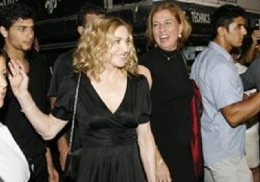 Danon: Livni's Madonna gig seat illegal