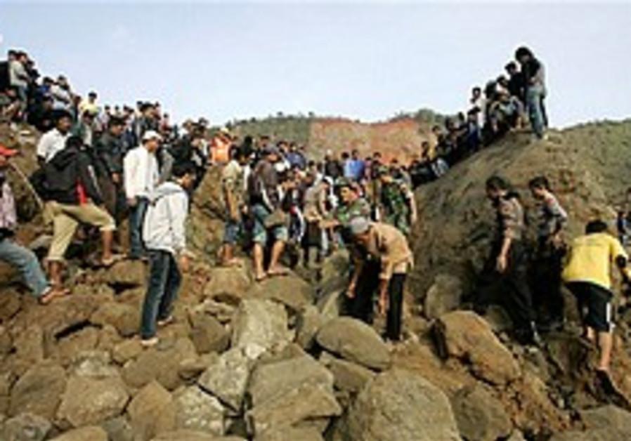 Indonesian quake leaves 46 dead, dozens missing
