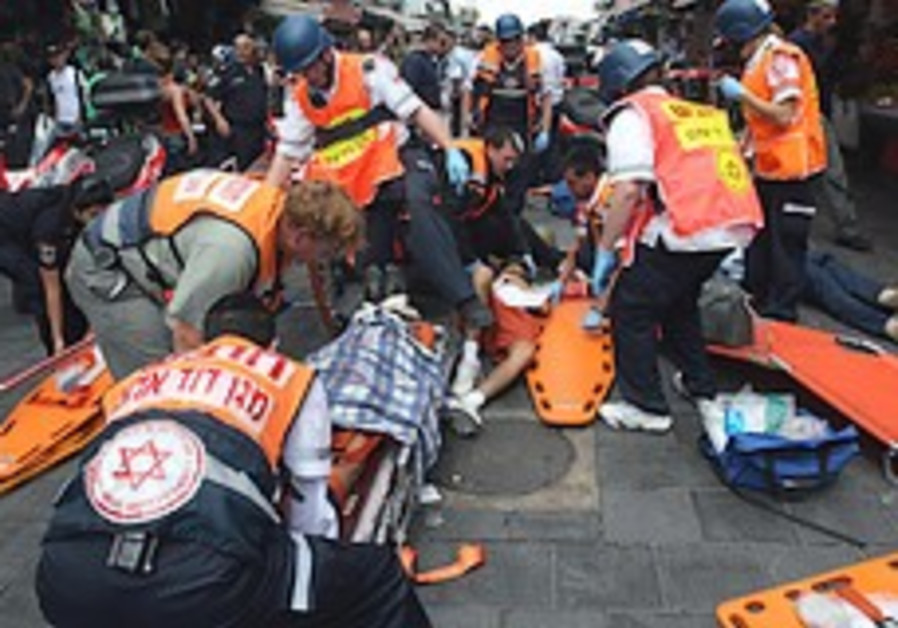 First-responders take part in simulated large-scale Mahane Yehuda security drill