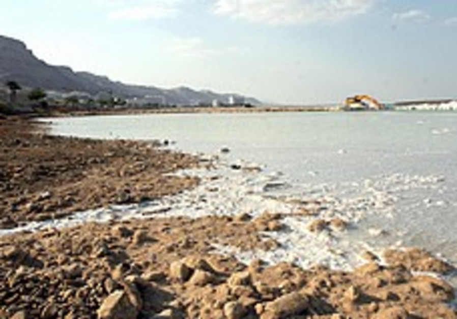 Dead Sea drying quicker than usual