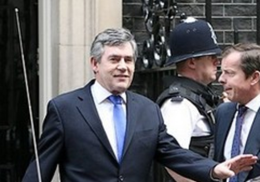 Gordon Brown pays tribute to UK Jews in Rosh Hashana message