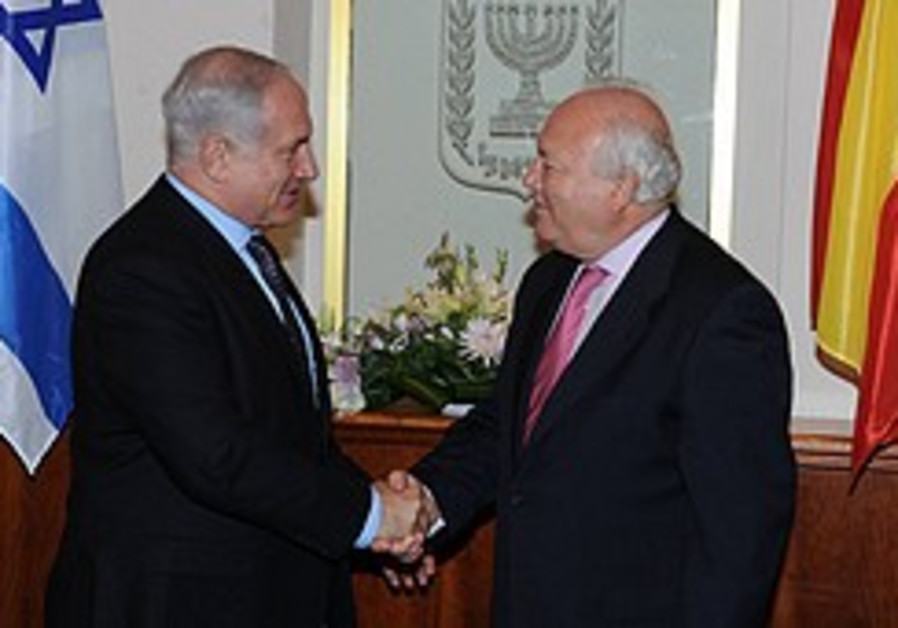 Moratinos to visit, reduced EU involvement felt in J'lem