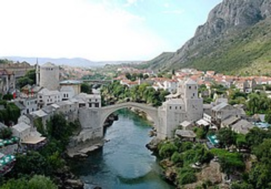 Shattered Pearl: Notes from a visit to war-torn Mostar