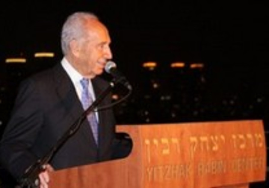 Peres discharged from TA hospital