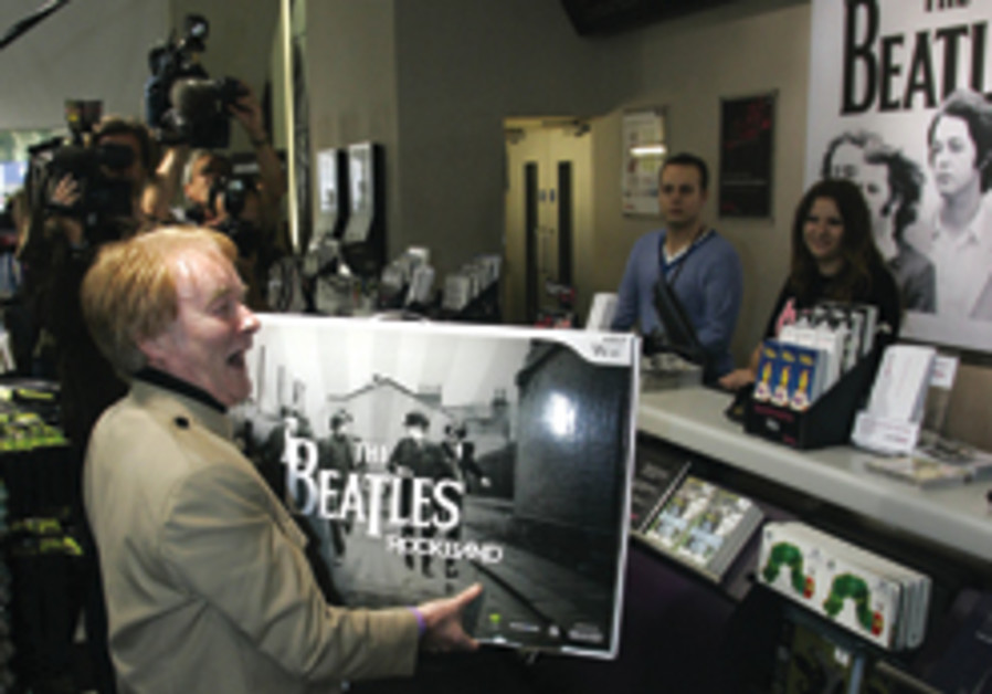 Britain celebrates B-Day with Beatlemania