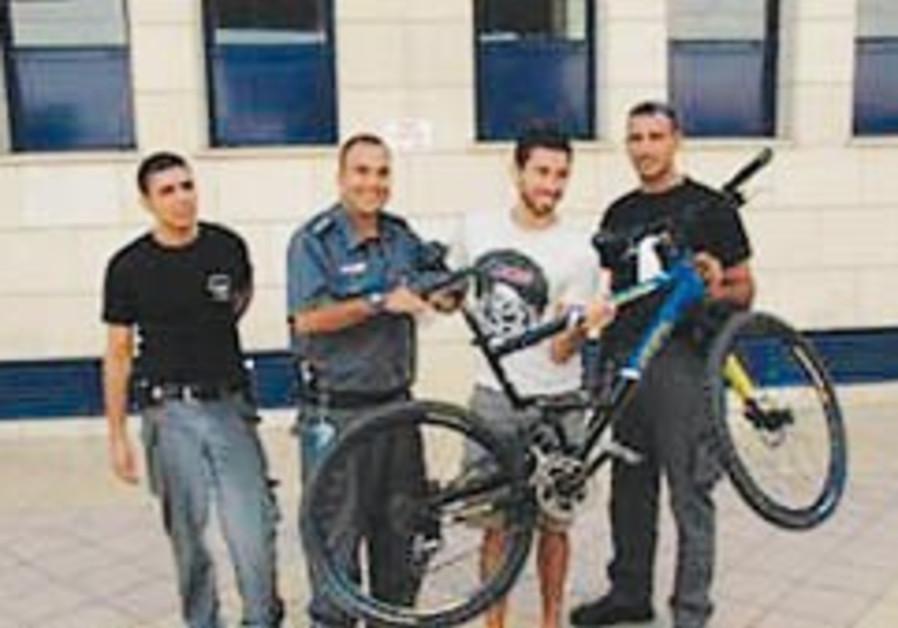 Incredulous Tel Avivians reclaim stolen bikes