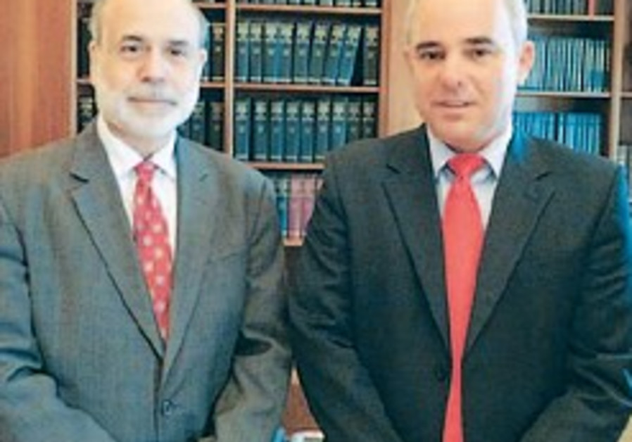 Steinitz, Bernanke mull economic crisis