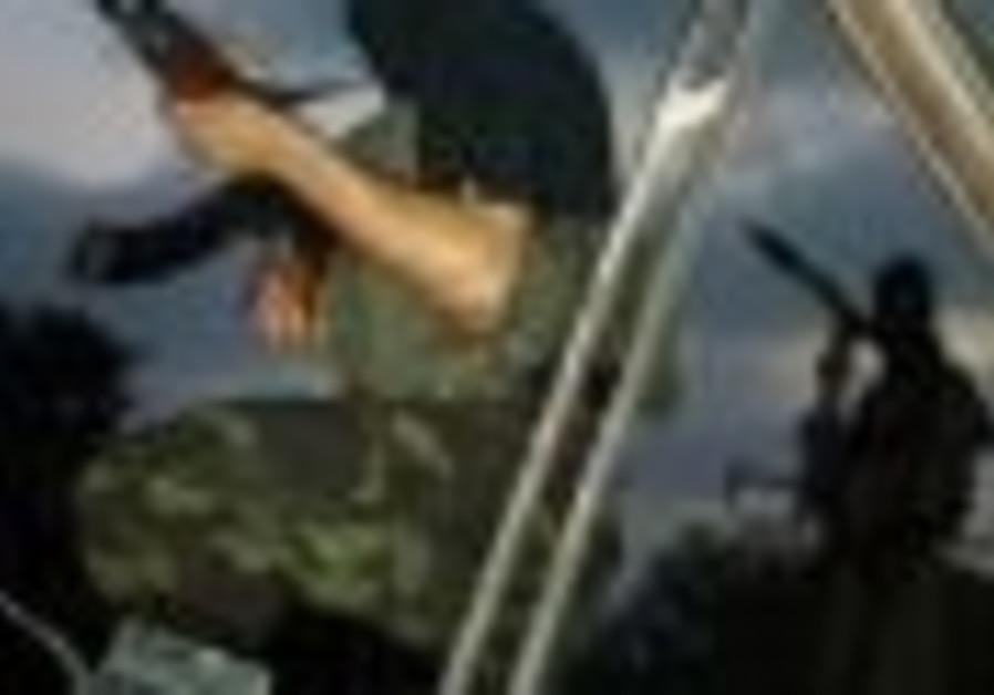 Hamas, with gun AP 88