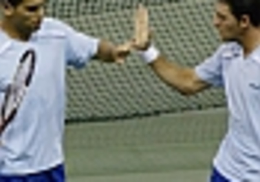 Israel hoping for early Davis Cup win
