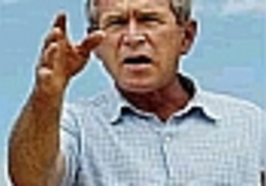 bush shouting gesturing 88