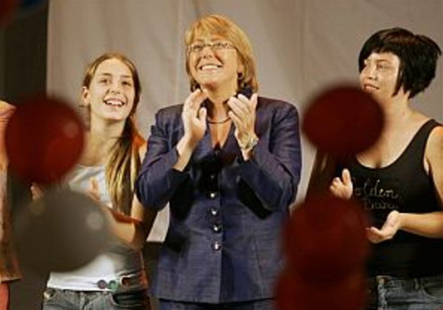 Bachelet becomes Chile's first woman leader
