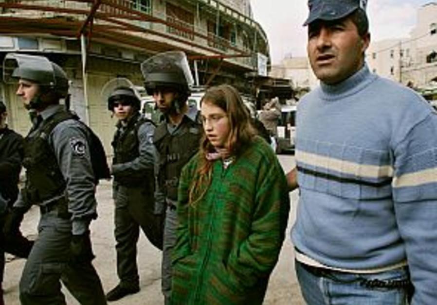 police arrest settler girl 298