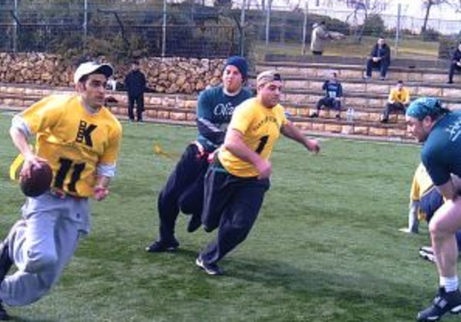 American football in Israel: Narrow victory for Out-of-Towners