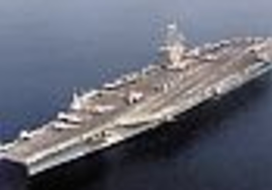 Japanese city doesn't want US nuclear-powered aircraft carrier