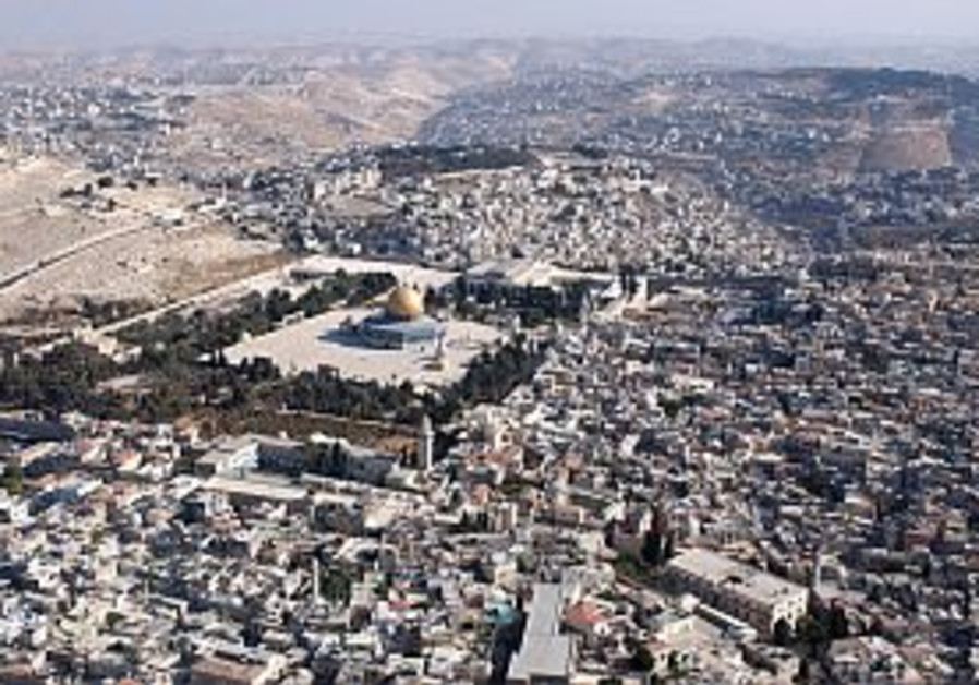 temple mount east jerusalem aerial view 298