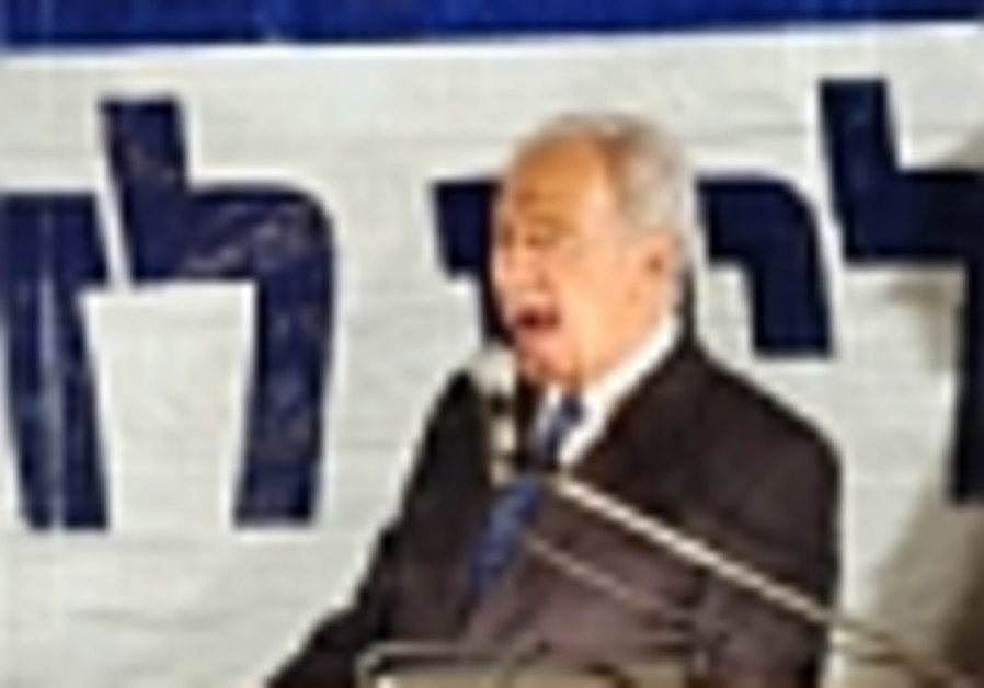 Comment: The apolitical President Peres?