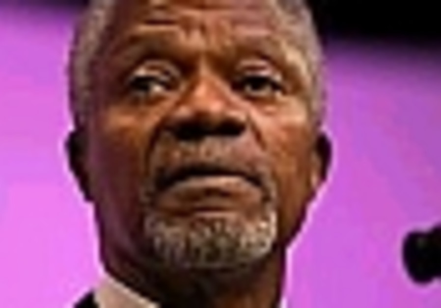 Annan urges US to hold talks with Iran