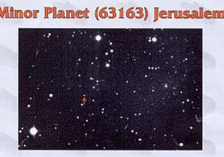 Jerusalem among the stars